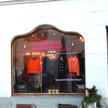 Schaufenster Boutique Riehen - ANNA K.